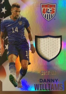 2015 Panini USA Soccer National Team Memorabilia