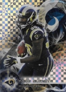 2015 Topps Platinum Todd Gurley RC #103
