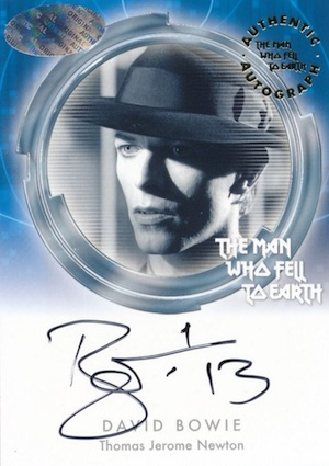 2015 The Man Who Fell To Earth Trading Cards - David Bowie Autographs 3