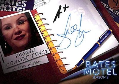 2016 Breygent Bates Motel Comic Con Autograph Keegan Connor Tracy as Miss Watson