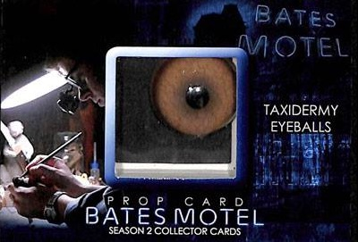 2016 Breygent Bates Motel Comic Con Prop Taxidermy Eyeballs