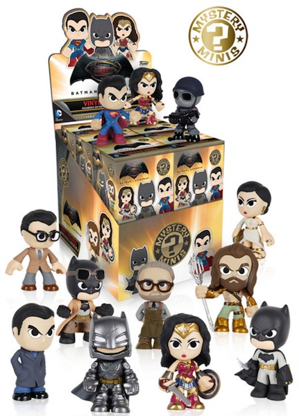 2016 Funko Batman v Superman Mystery Minis box