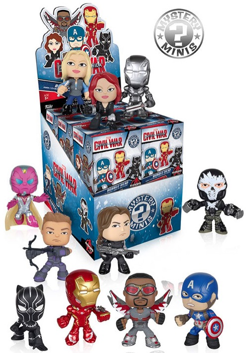 2016 Funko Captain America Civil War Mystery Minis 1