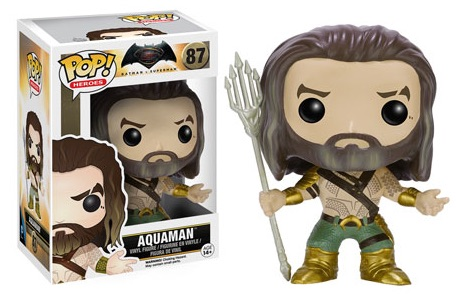 2016 Funko Pop Batman vs Superman Figures Aquaman