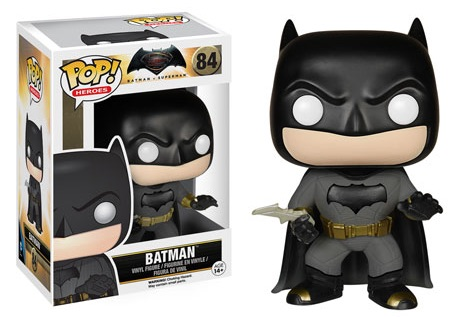 2016 Funko Pop Batman vs Superman Figures Batman