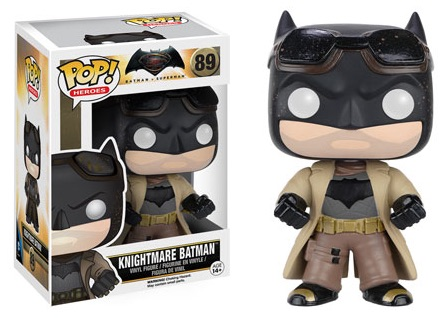 2016 Funko Pop Batman vs Superman Figures Knightmare