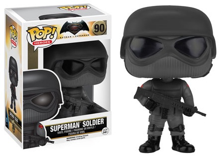 2016 Funko Pop Batman vs Superman Figures Soldier