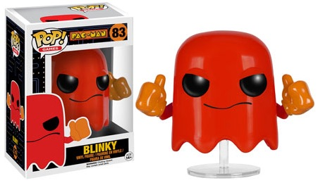2016 Funko Pop Pac Man Vinyl Figures 83 Blinky