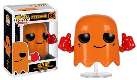 2016 Funko Pop Pac Man Vinyl Figures 86 Clyde