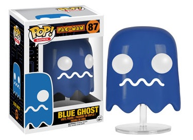 2016 Funko Pop Pac Man Vinyl Figures 87 Blue Ghost
