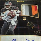 2016 Panini Super Bowl 50 Private Signings Football Cards