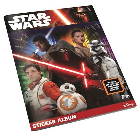 2016 Topps Star Wars The Force Awakens Stickers - Checklist Added 3