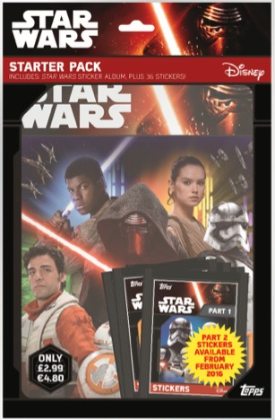 TOPPS SOLO A STAR WARS STORY STICKER ALBUM AND 30 STICKERS