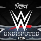 2016 Topps WWE Undisputed Wrestling Cards