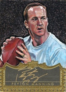 2016 Upper Deck All-Time Greats Master Collection Masterful Paintings Autographs Peyton Manning