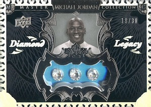 2016 Upper Deck All-Time Greats Michael Jordan Diamond Legacy
