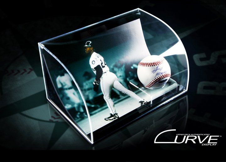 Upper Deck Curve Sports Memorabilia Display Guide 12