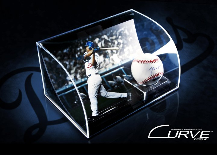 Upper Deck Curve Sports Memorabilia Display Guide 13