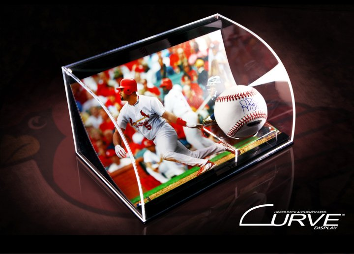 Upper Deck Curve Sports Memorabilia Display Guide 14