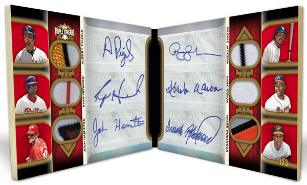 2011 Topps Triple Threads Baseball  3