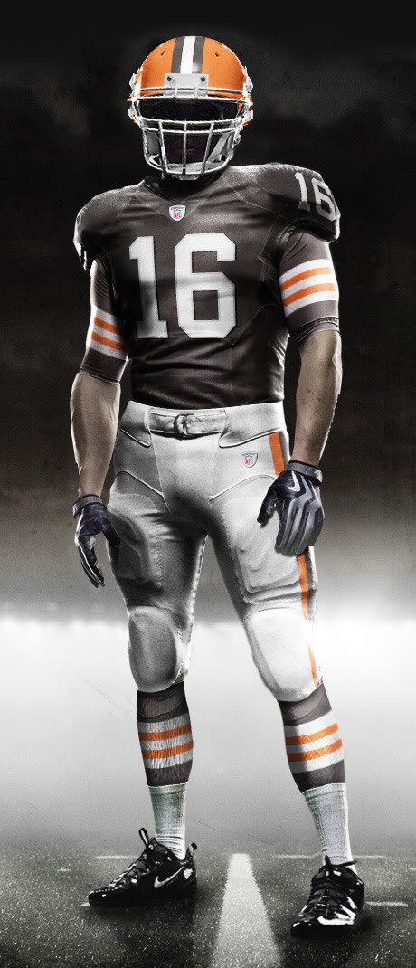 Fictional Nike NFL Uniforms Play-Fake National Media 6