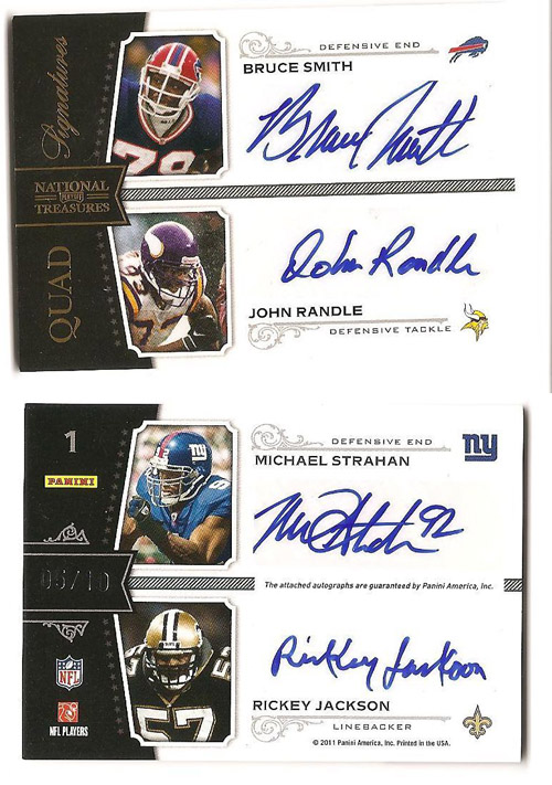 Big Time Hits: 2010 National Treasures Football  20