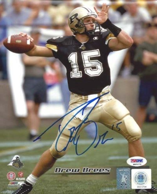 Drew Brees Rookie Cards Checklist and Autographed Memorabilia Guide 46