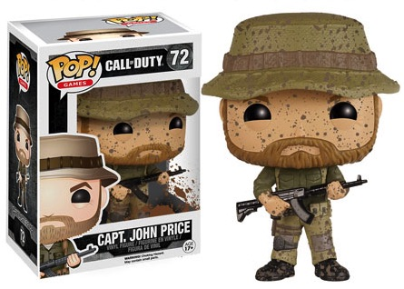 Funko Pop Call of Duty Vinyl Figures 72 Capt. John Price