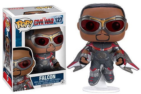Funko Captain America Civil War 127 Falcon Hot Topic