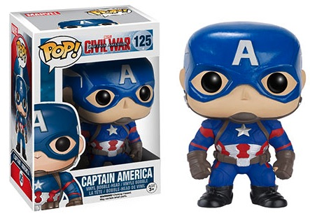Funko Pop Captain America Civil War Vinyl Figures 3