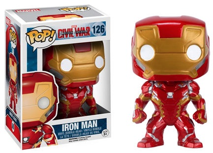 Funko Captain America Civil War Pop 126 Iron Man