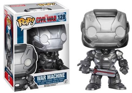 Funko Captain America Civil War Pop 128 War Machine