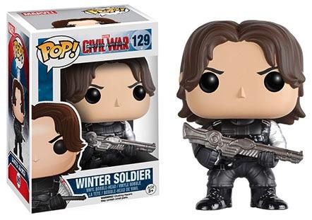 Funko Captain America Civil War Pop 129 Winter Soldier