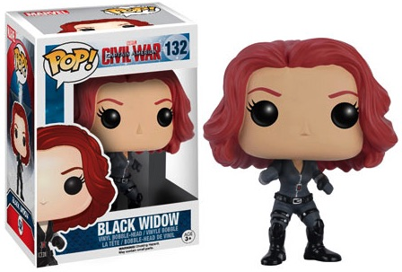 Funko Captain America Civil War Pop 132 Black Widow