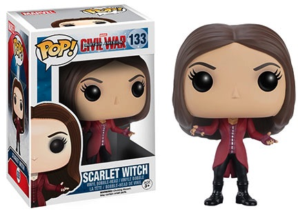 Funko Captain America Civil War Pop 133 Scarlet Witch
