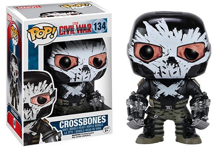 Funko Captain America Civil War Pop 134 Crossbones