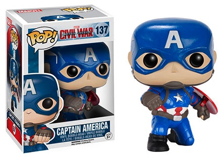 Funko Pop Captain America Civil War Vinyl Figures 16