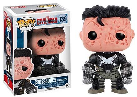 Funko Captain America Civil War Pop 139 Unmasked Crossbones Barnes Noble