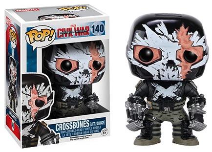 Funko Captain America Civil War Pop 140 Battle Damage Crossbones Target