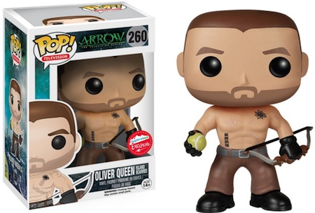 Funko Pop Arrow 260 Oliver Queen Island Scarred