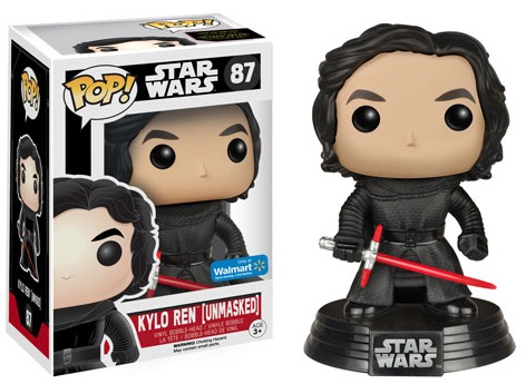Funko Pop Star Wars The Force Awakens Unmasked Kylo Ren