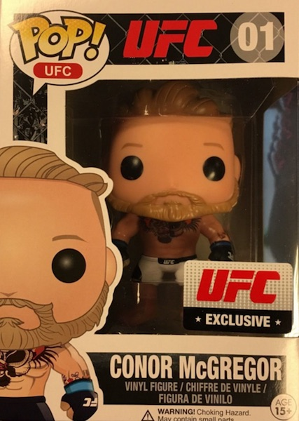 Funko Pop UFC Vinyl Figures McGregor White Exclusive