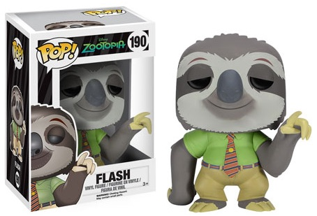 Funko Pop Zootopia Vinyl Figures Flash