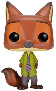 Funko Pop Zootopia Vinyl Figures Nick Wilde 1