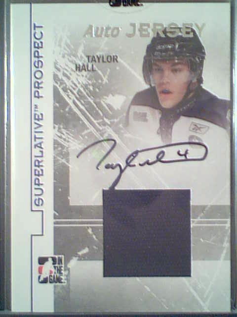 Virtual Card Show: Taylor Hall Hockey Cards 14