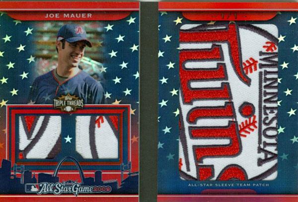 Virtual Card Show: Joe Mauer Baseball Cards 17