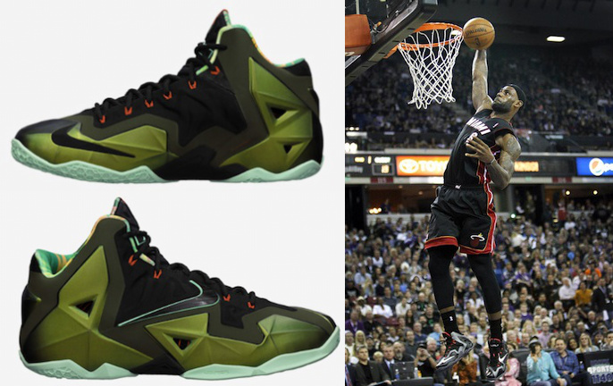 the latest 1d3d7 c3222 Complete Visual History of the Nike LeBron James Shoe Line 11