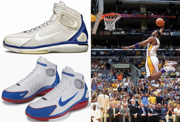 Full History and Visual Guide to Kobe Bryant Shoes 2
