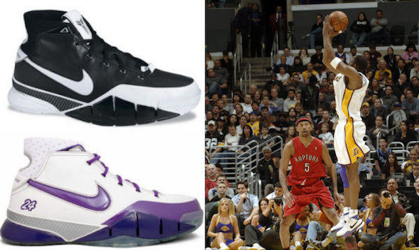74d9b3315e54 Full History and Visual Guide to Kobe Bryant Shoes 4