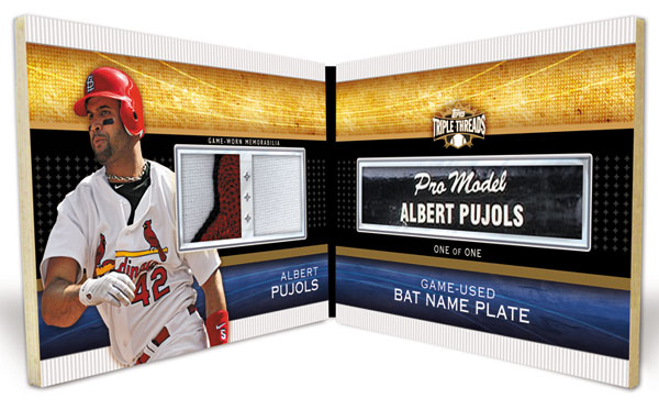2011 Topps Triple Threads Baseball  7